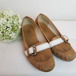 Geox moccasin flats size 37